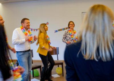 Positive Parties® Teilnehmer Tanzen gemeinsam