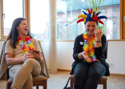 Positive Parties® Teilnehmer haben Spaß